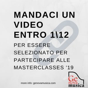 Mandaci il link ad un tuo video